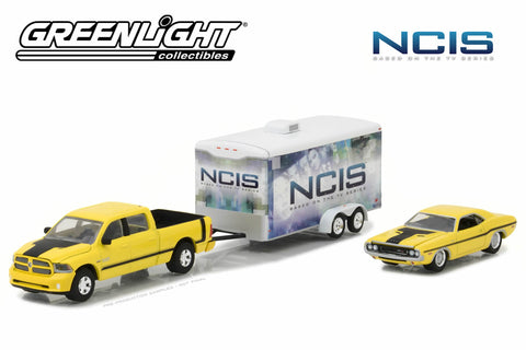 NCIS (2003-Current TV Series) - 2015 Ram 1500 / 1970 Dodge Challenger R/T / Enclosed Car Hauler