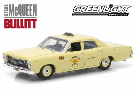 "Bullitt (1968) - 1967 Ford Custom ""Sunshine Cabs"" Taxi"
