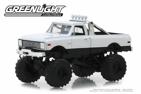 1972 Chevrolet K-10 Monster Truck (White)