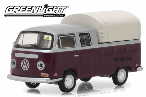 1971 Volkswagen Double Cab Pickup - Burgundy and Silver (Houston 2015)