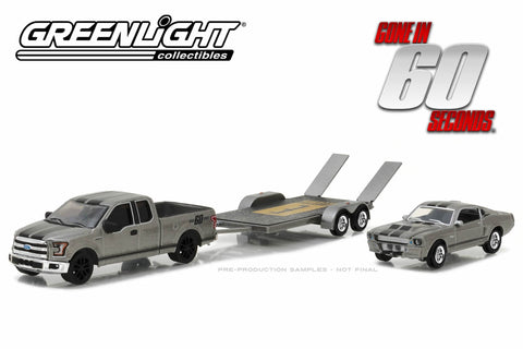"Gone in Sixty Seconds (2000) - 2015 Ford F-150 / 1967 Custom Ford Mustang ""Eleanor"" / Flatbed Trailer"