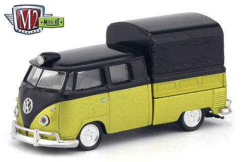 M2 Machines 1:64 Model Kit Release 25 1960 VW  Double Cab Truck USA Model