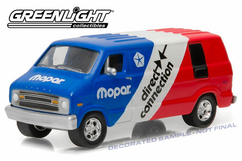 dc4e916dc2 1976 Dodge Van – Red White Blue Mopar Delivery – Modelmatic