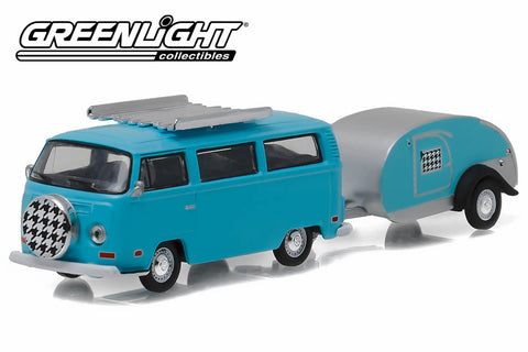 1972 Volkswagen Type 2 and Teardrop Trailer