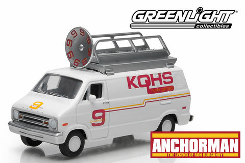 "Anchorman: The Legend of Ron Burgundy (2004) - 1979 Dodge Van ""Channel 9 News"""
