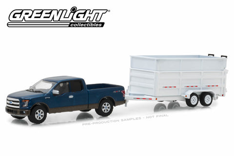 2016 Ford F-150 / Double-Axle Dump Trailer