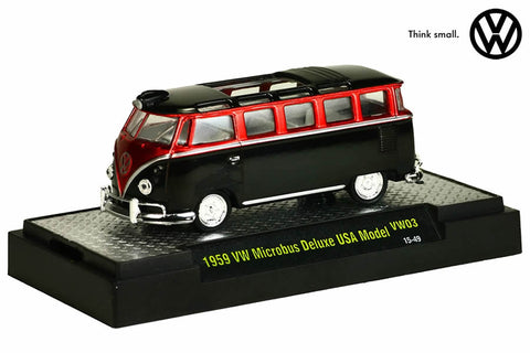 1959 VW Microbus 15 Window U.S.A. Model