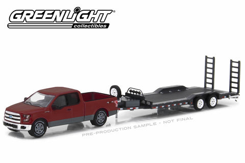 2015 Ford F-150 and Heavy Duty Car Hauler