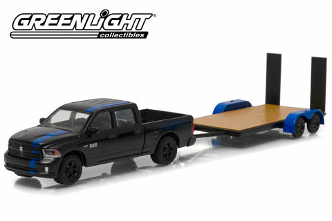 2015 Ram 1500 MOPAR Edition and Flatbed Trailer