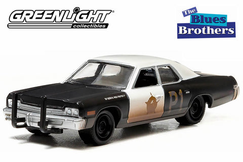 "Blues Brothers (1980) - 1974 Dodge Monaco ""Bluesmobile"""