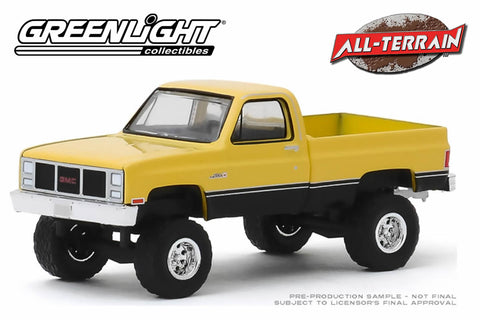 1987 GMC High Sierra - Colonial Yellow and Black