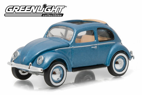 1951 Volkswagen Type 1 Split Window Beetle - Azure Blue with Sunroof