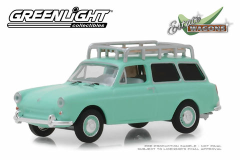 1965 Volkswagen Type 3 Squareback (Birch Green with Roof Rack)