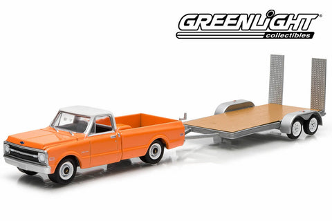 1969 Chevrolet C-10 and Flatbed Trailer