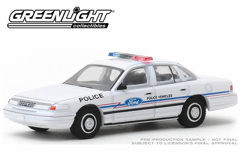 1993 Ford Crown Victoria Police Interceptor / Ford Police Vehicles Show Car