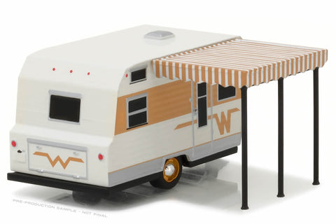 1964 Winnebago Travel Trailer 216 (White and Gold)