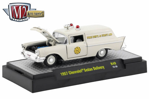 1957 Chevrolet Sedan Delivery - Fire Dept. and First Aid