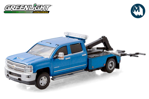 2018 Chevrolet Silverado 3500 Dually Wrecker - Blue