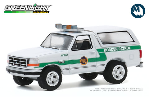 1993 Ford Bronco / U.S. Customs and Border Protection Border Patrol