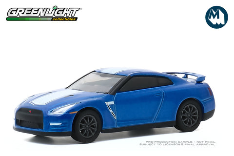 2016 Nissan GT-R (R35) - Bayside Blue with White Stripe - GT-R 50th Anniversary