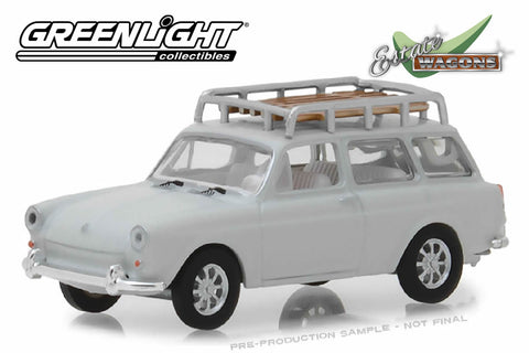 1968 Volkswagen Type 3 Squareback (Lotus White with Roof Rack)