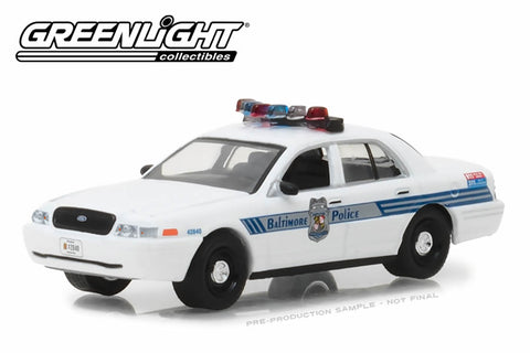2008 Ford Crown Victoria Police Interceptor / Baltimore, Maryland Police Department