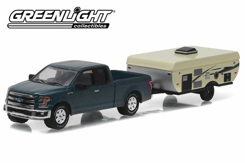2015 Ford F-150 and Pop-Up Camper Trailer