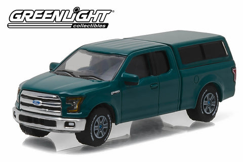 2015 Ford F-150 with Camper Shell - Green Gem
