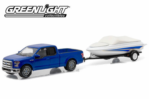 2015 Ford F-150 Lariat and Boat with Boat Trailer