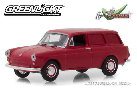 1968 Volkswagen Type 3 Panel Van (Velour Red)