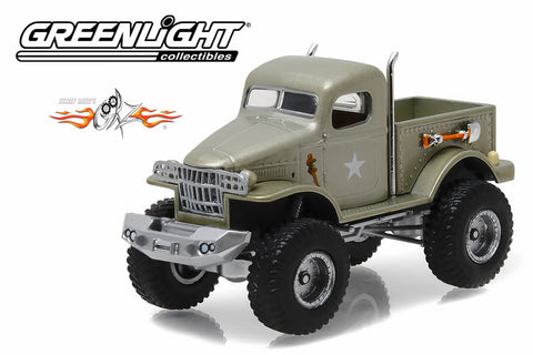 "Stacey David's Gearz (2007-Current TV Series) / 1941 Military 1/2 Ton 4x4 Pickup Truck ""Sgt. Rock"""