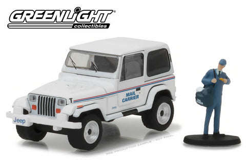 "1991 Jeep Wrangler YJ ""Mail Carrier"" with Mail Carrier"