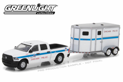 2017 Ram 2500 and Chicago Police Department Horse Trailer