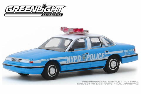 1993 Ford Crown Victoria Police Interceptor / New York City Police Dept (NYPD)