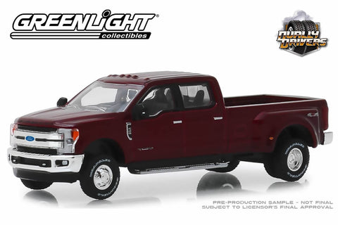 2019 Ford F-350 Lariat (Ruby Red)