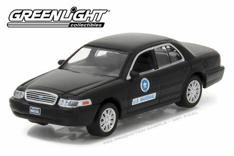 2008 Ford Crown Victoria Police Interceptor / U.S. Marshal Service