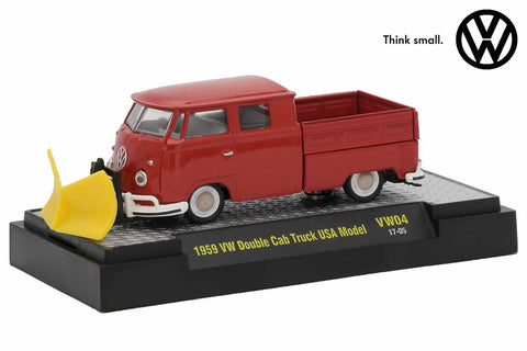 1959 VW Double Cab Truck U.S.A. Model w/Snow Plow