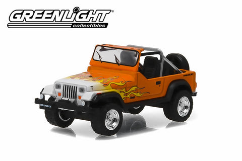 1991 Jeep YJ with Flames