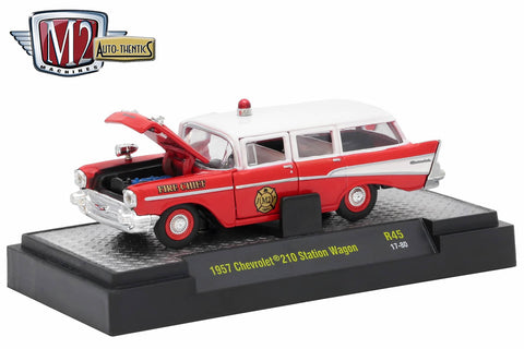 "1957 Chevrolet 210 Station Wagon - ""Fire Chief"""