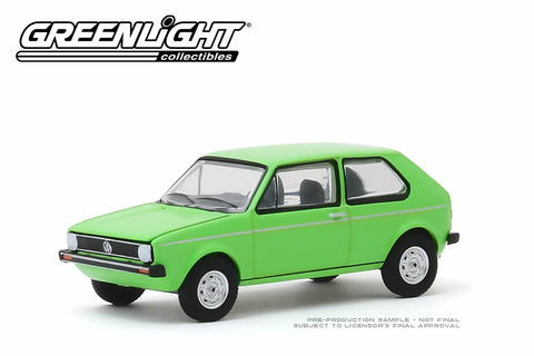 1975 Volkswagen Rabbit - Rallye Green