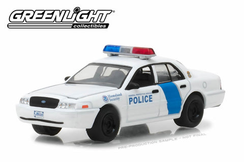 2011 Ford Crown Victoria Police Interceptor / Homeland Security Federal Protective Service Police