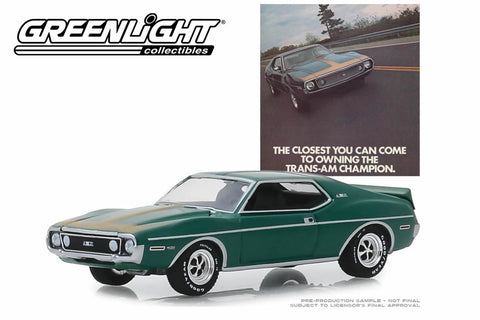 "1972 AMC Javelin AMX ""The Closest You Can Come To Owning The Trans-Am Champion"""