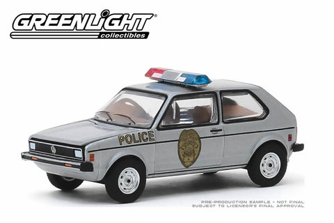 1980 Volkswagen Rabbit / Greensboro, North Carolina Patrol