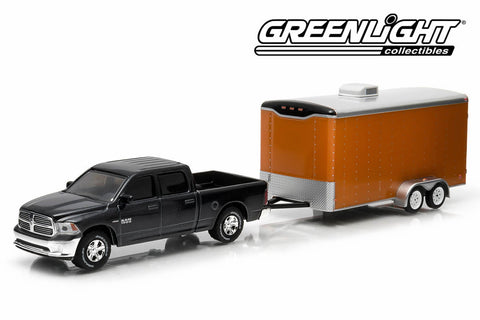 2014 Ram 1500 and Enclosed Car Hauler