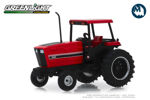 1982 Tractor with 4-Post ROPS - Red and Black