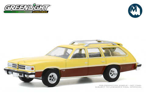 1977 Pontiac Grand LeMans Safari (Goldenrod Yellow with Woodgrain)