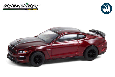 2019 Ford Shelby GT350 - Ruby Red with Black Stripes