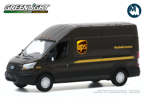 2019 Ford Transit LWB High Roof (United Parcel Service (UPS) Worldwide Services)