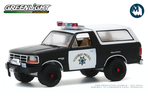 1995 Ford Bronco / California Highway Patrol