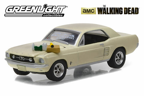 "The Walking Dead (2010-Current TV Series) / 1967 Ford Mustang Coupe ""Sophia Message Car"" with Accessories"